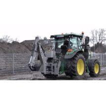 Függesztett árokásó traktorra SN5
