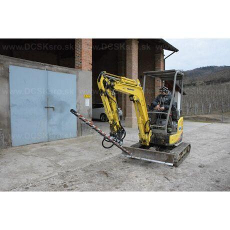 DCSK Profi Tech hidraulikus sövényvágó HT1500