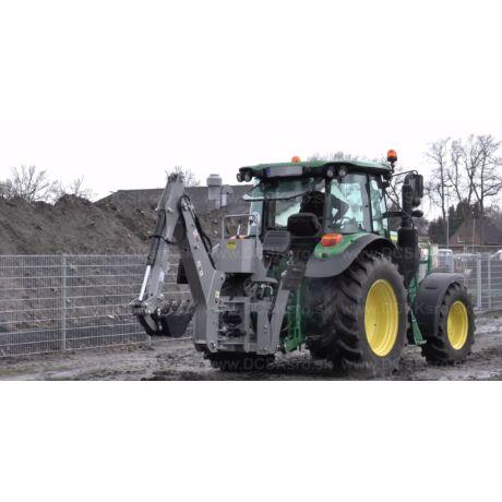 Függesztett árokásó traktorra SN5 äJansen BHM-225)