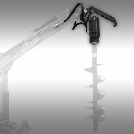 Hidraulikus talajfúró minikotróra, traktorra, homlokrakodóra SN116/1
